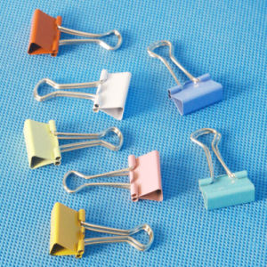 Office Supply Coloured Binder Clip Stationery (QX-BC001) 15/19/25/32/41/51mm pictures & photos