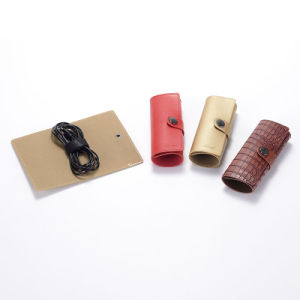 PU Leather USB Cable Bag pictures & photos