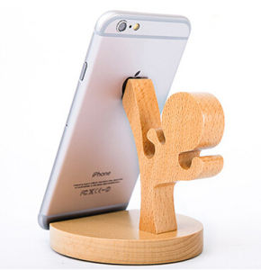 Fashion Cell Showing Wooden Stander pictures & photos