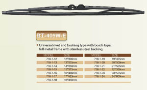 Wiper Blade Universal Type Wiper pictures & photos