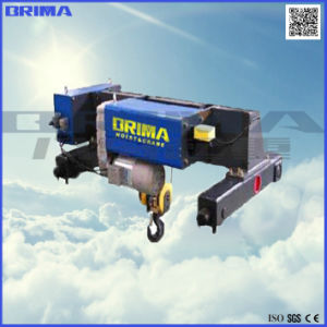 5t *12m Double Girder Wire Rope Hoist Crane (low-headroom) pictures & photos