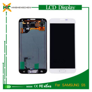 LCD Display for Samsung Galaxy S5, LCD Touch Screen for Samsung Sm-G900 pictures & photos