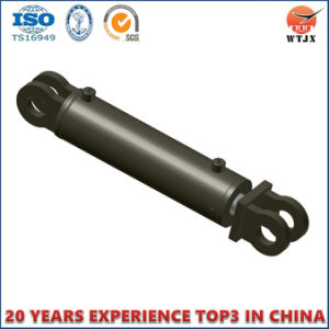 Double Acting Telescopic Clevis Rod Ends Tie Rod Cylinder for Agricultural Machinery pictures & photos