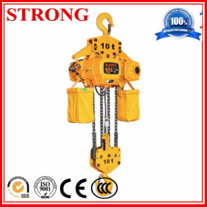 Electric Hoist with Wireless Remote for Constuction Use pictures & photos
