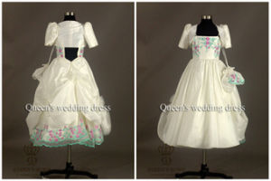 Unique Sweet Bride Wedding Flower Girl Dress, Tailored pictures & photos