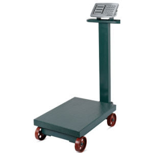 Electronic Digital Wheeled Price Computing Weighing Scale with Support (DH~839A) pictures & photos