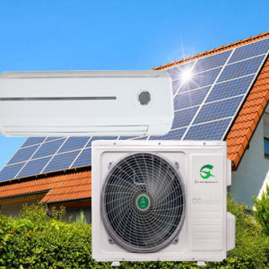 100% Solar DC 24V 9000BTU Wall Mounted Split Air Conditioner