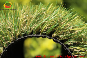 Four Colour Landscape Artificial Grass From Chinese Factory pictures & photos