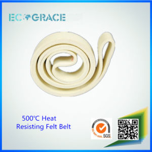 Heat Resist Aluminum Extrusion Kevlar Nomex Felt Belt pictures & photos