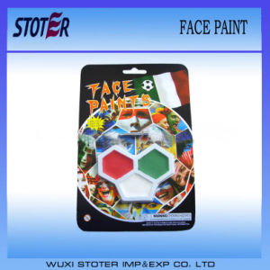 Non-Toxic Rainbow Art Colorful Football Face Paint pictures & photos