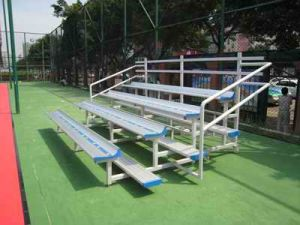 Aluminum Bleachers Aluminum Bleacher Football Stadium Chairs Badminton pictures & photos