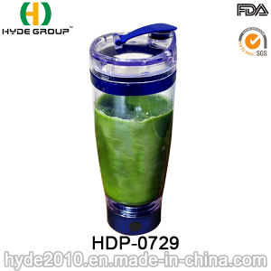 Plastic Portable 600ml Vortex Shaker Bottle for Protein, Plastic Electric Protein Shaker Bottle (HDP-0729) pictures & photos