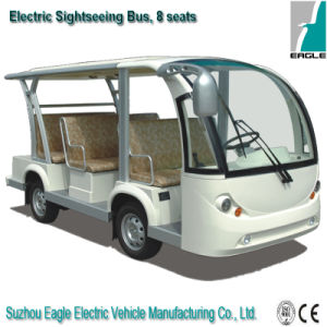 Eg6088k, 8 Seaters Environmental Protection Electric Shuttle Bus for Sale pictures & photos