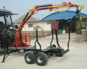Tractor Mounted 3-Point Log Grapple with CE Certificate pictures & photos