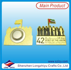Professional Custom Metal Badge China Manufacturer pictures & photos