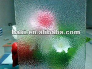 Clear Flora Figured Nashiji Pattern Glass