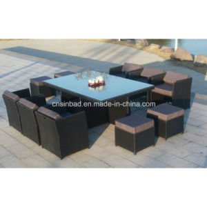Wicker Furniture for Outdoor with 180*115*74 Cm (6218-1) pictures & photos