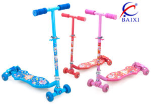 4 Wheel Kids Scooters for Sale (BX-4M002) pictures & photos