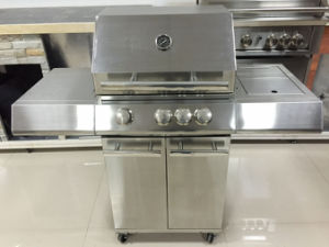 Outdoor Full Stainless Steel Gas BBQ Grills for Sale pictures & photos