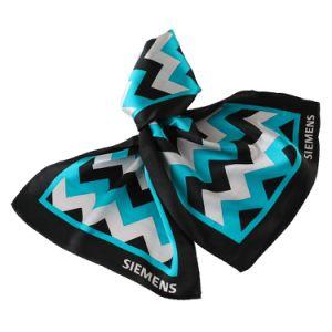 New Stylish Bespoke Uniform Scarf 100% Silk Printed Logo Scarf pictures & photos