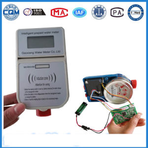 Electronic Battery Replaceable Type Smart Prepaid Water Meter pictures & photos
