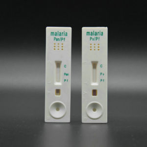 Ce Approved Malaria PF/PV (whole blood) Rapid Test Kit pictures & photos