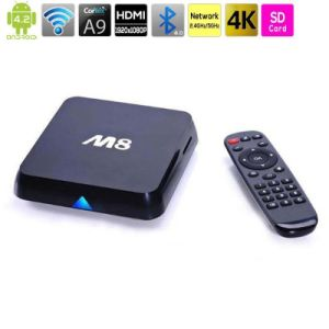 Quad-Core Network Player Android WiFi HD TV Set Top Boxes pictures & photos
