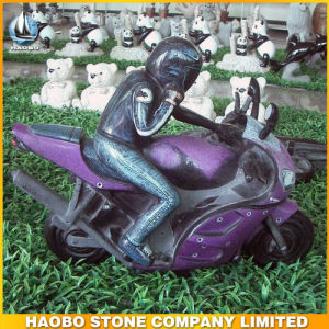 Granite Car Shaped Sculpture Hand Carved Carving pictures & photos