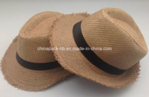 Classics Paper Straw Fedora Hats for Promotional(CPA_90051 pictures & photos