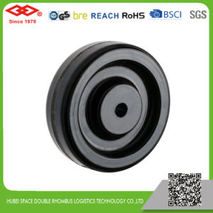 Black Rubber Industrial High Temperature Caster (P102-61C080X35S) pictures & photos
