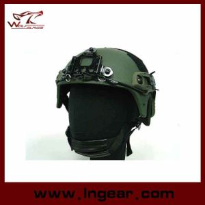 Tactical Ibh Helmet with Nvg Mount Side Rail Action Version Helmet pictures & photos