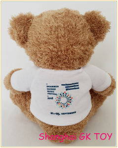 New Logo Customized Teddy Bear Promotion Plush Toy pictures & photos