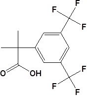 2- (3, 5-Bis(trifluoromethyl)phenyl) -2-Methylpropionic Acidcas No. 289686-70-0 pictures & photos