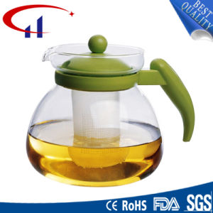 Handmade High-Quality Best-Sell Borosilicate Glass Teapot (CHT8074) pictures & photos