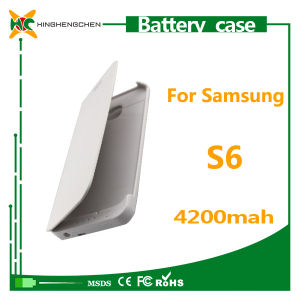 Wholesale Plastic Material Battery Charger Case for Samsung S6 pictures & photos