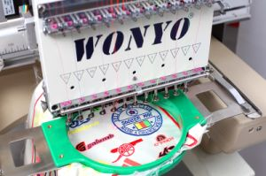 Single Head Embroidery Machine for Cross Stitch Embroidery pictures & photos