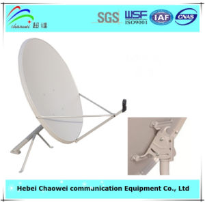 Outdoor 90cm Satellite Dish with Round Edge pictures & photos