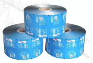 Supply Cosmetic Automatic Packing Roll Film Pouch Film pictures & photos