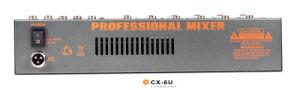 Mixing Console/Mixer/Soud Mixer/Professional Mixer /Console/Sound Console/Brand Mixer Cx-6u pictures & photos