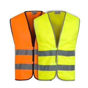 100% Polyester Reflective Vest Jacket Safety Clothing (UF255W) pictures & photos