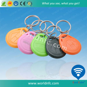 Waterproof ABS/Silicone 125kHz Tk4100 RFID Keyfob, Key Tag pictures & photos