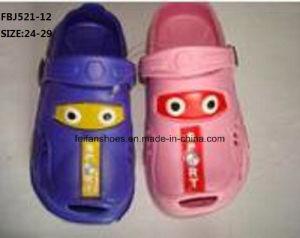 Children EVA Garden Shoes Slipper Shoes Sandal Shoes Beach Shoes (FBJ521-12) pictures & photos