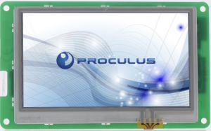 7′′ 800*480 LCD Module with Resistive Touch Screen for Engineering Use