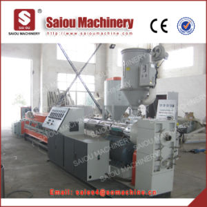 Professional Manufacture PE/PVC Single Wall Corrugated Pipe Extruder Line pictures & photos