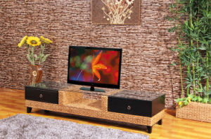 Living Room Furniture Television Shelf Stand Rattan Furniture