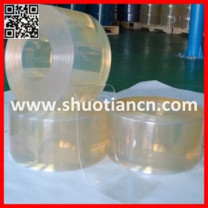 PVC Transparent Flat Plastic Strips (ST-004) pictures & photos