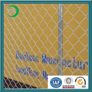 Hot Dipped Galvanized Temporary Construction Chain Link Fence pictures & photos