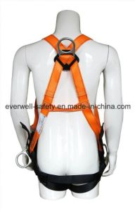 Full Body Harness, Safety Harness, Seat Belt, Safety Belt, Webbing with Three-Point Fixed Mode (EW0119BH) pictures & photos