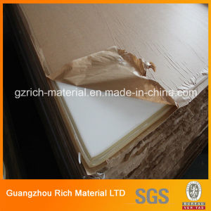 Orangic Glass Plastic Acrylic Sheet with Virgin Edges for Protection pictures & photos