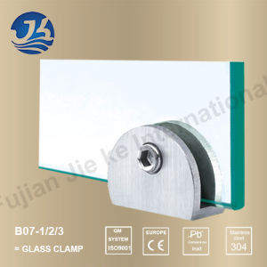 Stainless Steel Bathroom Hardware Glass Clamp (B07-1/2/3)